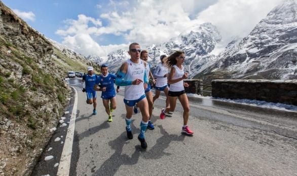 Imagebilder für den Stelvio Marathon