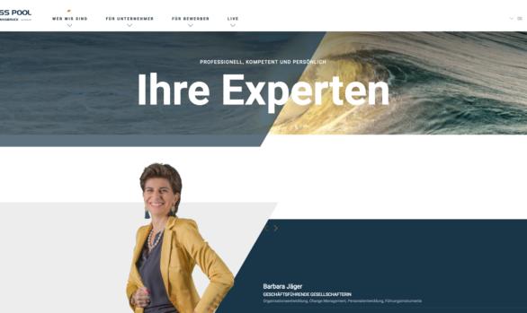 Mitarbeiterfotos für Unternehmenswebseite