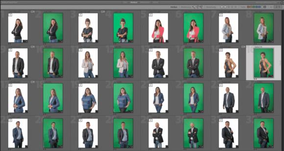Mitarbeiterfotos für neue Webseite